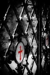 Fence of the monastery (vale0065) Tags: fence island kreta greece monastery crete moni klooster hek eiland griekenland abdij hekwerk kardiotissas kerakardiotissamonastery monikardiotissas