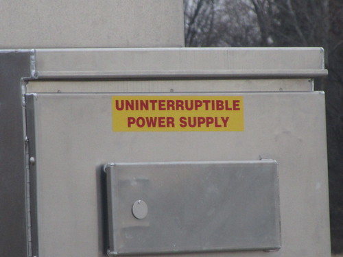 Uninterruptible Power Supply by danxoneil, on Flickr