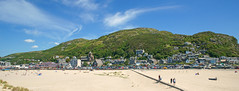 Barmouth, Gwynedd. Wales. United Kingdom. (Minoltakid) Tags: blue sky beach wales clouds buildings town seaside unitedkingdom gwynedd barmouth rossevans minoltakid theminoltakid rossdevans