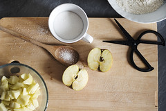 Cooking time! (Laura Ascari) Tags: food cooking composition photography rustic sugar apples fotografia modena foodstyling