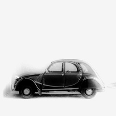 citroen 2cv (archifra -francesco de vincenzi-) Tags: bw italy car automobile italia citroën voiture oldcar molise isernia ranitas citroën2cv deudeuche lincrevable citroën2cvcharleston archifraisernia francescodevincenzi lumacadilatta