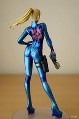 Samus - Zero Suit 03 (Joe_47) Tags: anime statue suit figure figurine zero pvc samus bfigure jfigure