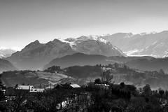 El Aramo desde Latores (ccc.39) Tags: bw blancoynegro monochrome nieve asturias bn aramo montes latores