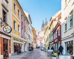 Burgstraße Meißen (Philipp Seibt) Tags: germany deutschland europa europe saxony sachsen february markt altstadt februar meissen burgstrasse 2015 meisen burgstrase