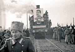 First Trans-Siberian train from Naushki to Ulaanbaatar, November 11, 1947 #HistoryPorn #history #retro http://ift.tt/27thJCG (Histolines) Tags: from november history train first 11 retro timeline transsiberian ulaanbaatar 1947 vinatage naushki historyporn histolines httpifttt27thjcg