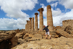 Craig at Valley of Temples (ec1jack) Tags: trip italy holiday greek march spring europe mediterranean roman may april sicily agrigento valleyoftemples 2016 kierankelly ec1jack canoneos600d