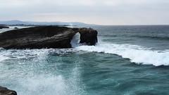 Playa de las Catedrales (Tuscasasrurales) Tags: oleaje lugo ribadeo playadelascatedrales
