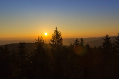Awaken from a dream... (Dominik.D - Photography) Tags: morning trees sky sun colors sunrise canon landscape outdoor himmel sigma explore landschaft sonne bume sonnenaufgang schwarzwald blackforest schauinsland doubled 1750mm canon600d eugenkeidelturm