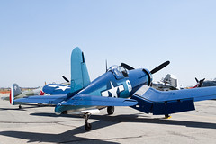 CC Air Corporation Vought (Goodyear) FG-1D Corsair N11Y (jbp274) Tags: vintage airport display airplanes airshow corsair restored goodyear warbird chino cno f4u vought fg1 kcno