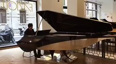 Alessandro Taverna plays the new Fazioli Aria