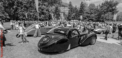 Bugatti Type 57S Atalante Coupe (Nicodemus♐) Tags: villa type bugatti coupe deste 2016 concorso 57s atalante deleganza bugattitype57satalantecoupe