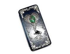 Leather Vintage Blue Case for iPhone 6 with a ruby zoisite silver steampunk, gothic, vintage, Victorian style (fenixdrag) Tags: angel wings handmade gothic victorian accessories steampunk naturalstone filigree gothicstyle vintageaccessories handmadeaccessories vintagecase heartwings gothaccessories steampunkaccessories victorianaccessories leathercaseforiphone filigreecaseforiphone handmadecaseforiphone steampunkcaseforiphone victoriancaseforiphone gothiccaseforiphone darkcaseforiphone vintagecaseforiphone