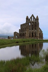 Whitby Abbey (smitchelrific) Tags: england reflection abbey architecture yorkshire ruin medieval whitby
