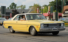 1975 Dodge Dart Swinger (RudeDude2140a) Tags: classic car yellow 1975 dodge coupe dart swinger