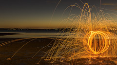 Wellington Point - Fire Night (AusAvGeek) Tags: wellingtonpoint