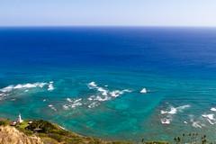 IMG_4125 (The.Rohit) Tags: travel vacation mountain beach nature landscape hawaii coast waikiki oahu hiking hill hike explore crater vista honolulu aloha leahi hikingtrail diamondheadcrater diamondheadstatemonument diamondheadsummittrail