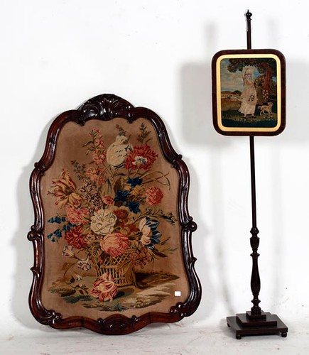 Needle Point Fire Screen ($550.00)
