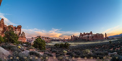 Canyonlands National Park Sunset (Lee Parks Photography) Tags: camping landscape outdoors utah us nationalpark unitedstates hiking arches canyonlands moab monticello