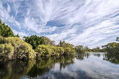 Natures Artistry (SteveKPhotography) Tags: trees light sky lake reflection water clouds landscape outdoors scenery sony scenic wideangle alpha za carlzeiss a99 tomatolake sal1635z variosonnar163528za variosonnart281635 slta99 stevekphotography