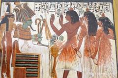 Sennedjem and family (konde) Tags: wood ancient tomb goddess isis osiris hieroglyphs deirelmedina maat tt1 newkingdom 19thdynasty sennedjem rahorakty