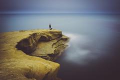 Time Machine (Fluid Light Images) Tags: ocean blue composite outdoors long exposure sandiego sony dream oceanbeach app sunsetcliffs smoothreflections fe28mm