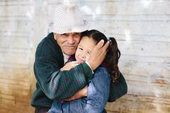 (Angelita Niedziejko) Tags: portrait hug grandfather