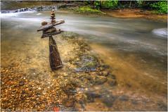 Rothbach (Hanspeter Ryser) Tags: fuchspfad wasser steine landart art kunst landschaft wasserfall water fox path stones landscape waterfall wate huttwil bern schweiz swizerland