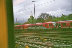 imm004_4A (coloredsteel) Tags: train canon graffiti ae1 steel kunst 400 program colored bombing ulm spotting rossmann trainwriting