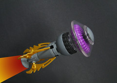 Medusiod Star Clipper. (Karf Oohlu) Tags: lego scifi spaceship moc microscale microspacetopia medusoid