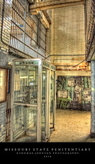 Missouri State Penitentiary (Thomas  Johnson Photography) Tags: old brick phone phonebooth scenic prison missouri inside tours hdr 2016 missouristatepenitentiary tonemapped 40d thomasjohnsonphotography thomasjohnsonphotography
