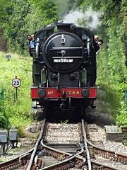 North Weald station, Essex (Deptford Draylons) Tags: england trains railways essex steamlocomotives greatnorthernrailway northweald preservedrailways eppingongarrailway classn2