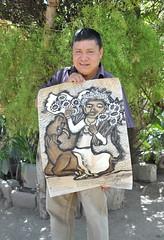 Artist Gerardo Navarro Gomez Oaxaca Mexico (Ilhuicamina) Tags: art mexican artists painters oaxacan jalieza navarrogomez