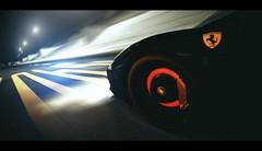 Ferrari 458 Italia (Thomas_982) Tags: gt5 gt6 cars ferrari 458 italia auto motion city night autobahn cavallino rampante ps3 granturismo glow brake black nero
