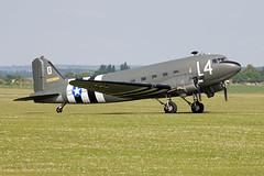 Douglas C-47A Skytrain (DC-3) N147DC / 2100884/L4-D (Andy C's Pics) Tags: duxford douglas skytrain dc3 l4d imperialwarmuseum iwm c47a douglasc47a n147dc 2100884