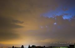 Azul elctrico (Joaquim F. P.) Tags: cielo meteo nikon nubes salou tarragona tormenta rayos d610 50mm tripod clouds nikkor lens