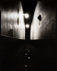 Show me a dark alley and you know where I'll be heading (Zeb Andrews) Tags: urban night lowlight alley astoria 4x5 analogphotography largeformat linhoftechnikaiv directpositive paperpositive galaxyhyperspeed