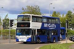 McGill's, Greenock I9946 LX51FLG (busmanscotland) Tags: greenock alexander dennis flg stagecoach mcgills trident 9946 17471 alx400 selkent lx51 lx51flg i9946 tas471
