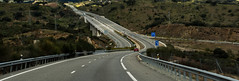 Highway to Zufre (Andalusia, Spain. Gustavo Thomas  2016) (Gustavo Thomas) Tags: voyage travel viaje espaa lines spain highway europe carretera curves transport espagne curvas lneas autova zufre