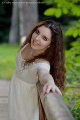 DSC_1490+ (SuzuKaze-photographie) Tags: portrait woman lyon bokeh femme parc swirly helios442 suzukazephotographie