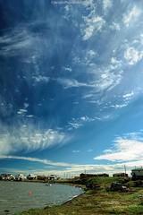 AAA_0925s (savillent) Tags: ocean blue summer sky canada beach water june clouds landscape nikon northwest north arctic solstice polarized climate territories 2016 2470 tuktoyaktuk