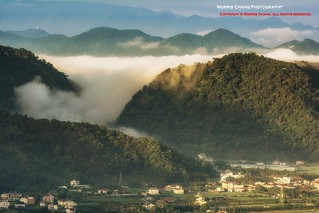 My home town. Mt. Hutou, Puli, Taiwan 埔里虎頭山