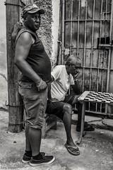 Gambling streets (bananacake1000) Tags: havana cuba culture streetphotography games blackandwhite travel nikon d7200 people