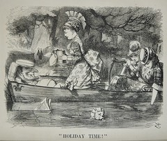 'Holiday Time'- Punch 1873 (AndyBrii) Tags: woodcuts satire punch wit cartoons engravings 1873