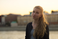 DSC00275 (andresik12) Tags: park sunset girl beautiful russia gorkogo