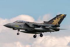 za548 31st SQN 100th ANNIVERSARY TAIL USAF/RAF MILDENHALL TOUCH AND GO (andrew watts photography) Tags: za548 mildenhall usaf raf tornado jet marham nikon d800 31st sqn 100th