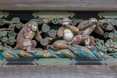 Three wise monkeys (marina1305) Tags: japan sony april nikko tochigi toshogu 2016 a6000 epz1650mmf3556oss ilce6000