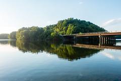 croton lake (Homemade) Tags: bridge trees summer ny newyork green water katonah westchestercounty route35 crotonlake crotondam sonydscrx100