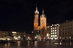 Krakow druga rano-106 (MMARCZYK) Tags: polska krakow nuit noc mariacki cracovie rynek pologne kosciol glowny