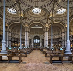 La salle Labrouste depuis lentre, avril 2016,  Jean-Christophe Ballot BnF/INHA/OPPIC (Library ABB 2013) Tags: paris france architecture nationallibraryoffrance bibliothquenationaledefrance 2016