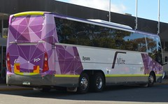 Dysons VLINE Scania Coach Cncepts Body Work (denmac25) Tags: bus outdoors action transport canberra act scania dysons